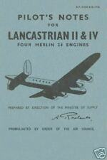 AVRO LANCASTRIAN and YORK - 2 MERLIN POWERED TRANSPORTS