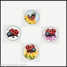 36 Ladybug Tattoos Flowers Girls Party Favor ABCraft