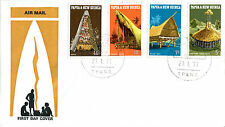 27 JANUARY 1971 PAPUA NEW GUINEA WCS ARCHITECTURE FIRST DAY COVER