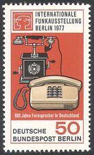 Germany (B) 1977 Telephones/Communications/Telecommunications/Phones 1v (n41169)