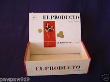 VINTAGE EL PRODUCTO CONSOLIDATED CIGAR CORP BOX ORIGINAL PRE BAR CODE