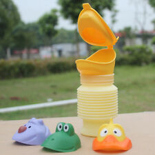 Portable Kids Children Urinal Car Travel Toilet Potty Training Pee Camping 400ML