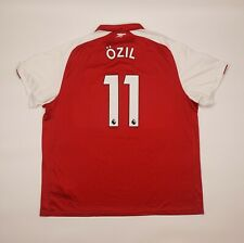 Ozil #11 Arsenal 2017 2018 Home Football Soccer Shirt Jersey Puma Camiseta 4xl