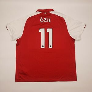 Ozil #11 Arsenal 2017 2018 Home Football Soccer Shirt Jersey Puma Camiseta 4xl