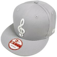 NEW Era Music Note Gray SNAPBACK CAP BERRETTO 9 FIFTY Exclusive Limited Edition