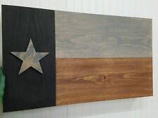 Gun Concealment Cabinet , Secret Hidden Storage Furniture Dark Rustic Texas Flag