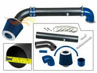 BCP RW BLUE For 97-06 JEEP Wrangler TJ 2.5L L4  4.0L L6 Air Intake Kit +Filter