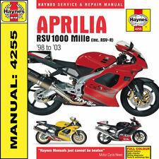 Aprilia RSV1000 Mille 1998- 2003 Haynes Handbuch 4255 NEU