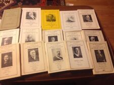 Lot of 15 List Of All Persons In The Town Of Spencer MA  1951- 1973