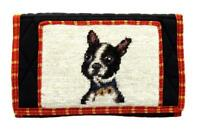Dachshund Puppy Dog Large Handmade Wallet by Union Trading Company with Strap