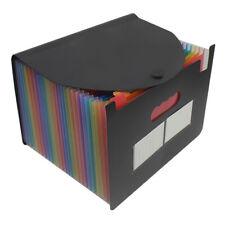 13 Pockets Expanding File Folder A4 Portable Business File Holder