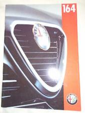 Alfa Romeo 164 brochure Feb 1996