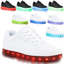 Unisex Blinkende Leuchtende Muße RGB LED Schuhe Sneaker mit Farbwechsel Licht
