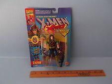 "X-Men X-Force Rictor 5""in Action Figure w/Power Vibes,Gun & Card Toy Biz 1994"