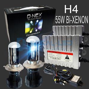 O-NEX H4 9003 BI-XENON HID Kit 55W Digital Ballasts Super Bright Headlight Bulbs