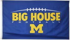 University of Michigan Wolverines Flag Ncaa Big House Banner 3X5Ft Us Shipper