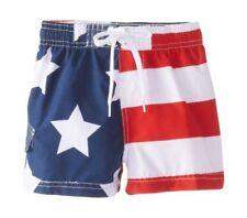New listing Kanu Surf Baby Boys' American Flag Swim Trunk 2T