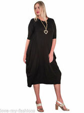 Summer Viscose Long Sleeve Dresses for Women