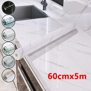 5M Kitchen Countertop Marble Sticker Paper Self-adhesive Wall Sticker Waterproof