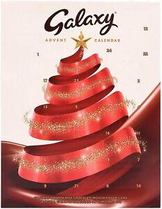 Galaxy Chocolate Advent Calendar, Best Gift Christmas Chocolate Calander 110g.