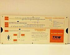 VTG 1967 Varicap TRW Semiconductors  Slide Rule Frequency Characteristics