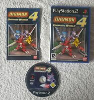 Digimon World 4 (Sony PlayStation 2, 2005) - Complete. PS2 Game