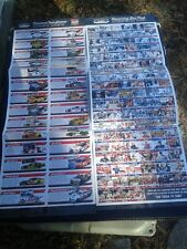 Nascar Darlington Raceway 2015 Southern 500 Throw Back Paint Schemes Brochure