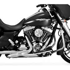 Vance & Hines Chrome Power Duals Exhaust Header System 2009-2016 Harley Touring