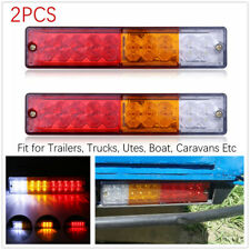 2*12V LED Truck Trailer Tail Light Turn Signal Reverse Brake Rear Lamp Indicator