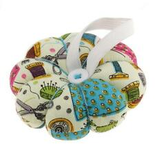 Fabric Wrist Wearable Pumpkin Pin Cushion for Home Sewing Accessories