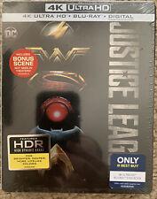 New listing Justice League [SteelBook] [+Digital Copy] [4K Ultra Hd/Blu-ray] - New ,Sealed!