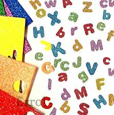 Glitter Foam Self-Adhesive Letters. 850 Letters. For Crafts, Cards, 1st CLASS