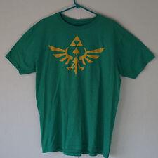 Men's Licensed Nintendo Zelda Skyward Sword Tee Shirt Green Size XL Extra Large