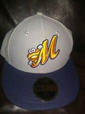 Montgomery Biscuits Hat New Era Fitted 7 1/4 59Fifty Cap Minor League Baseball