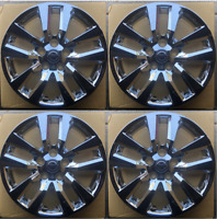 """4 NEW 16"""" CHROME Hubcap Wheelcover that FITS 2013--2017 Nissan SENTRA hub cap"""