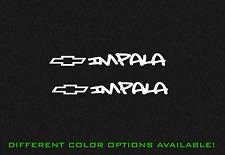 "Chevy Impala Chevrolet Graffiti 2X 7"" Decal Sticker Stickers"