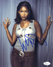 (Ssg) Merrin Dungey Signed 8X10 Color Photo with a Jsa (James Spence) Coa