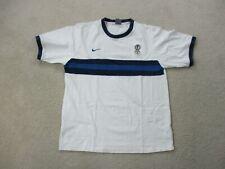 VINTAGE Nike Inter Milan Shirt Adult Extra Large White Blue Soccer Futbol Mens