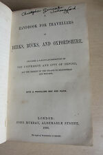 Murray's Handbook for Travellers in Berks, Bucks and Oxfordshire, 1st, 1860