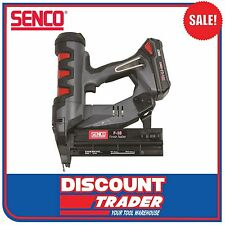 Senco Fusion 18V Lithium-Ion Straight Finish Nail Gun Kit C1 Bradder F-18 FN55AX