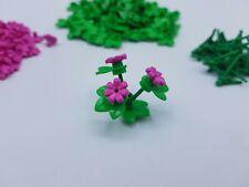 LEGO LOT 25 PLANTES 3 TIGES REF 24855 + 75 FLEURS + 100 NÉNUPHARS *NEUF*