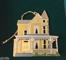 Victoria House Or014 Charlotte Nc Shelia's 3D Historical Ornament Ist Ed