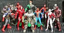 "Marvel Legends/Universe/Infinite 3.75"" Iron Man Spider-Man Avengers Alpha Flight"