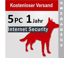 G Data Internet Security 2020 GDATA, 5 PC, 1 Jahr + 2 bis 3 Monate Bonus