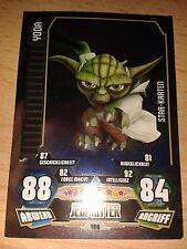 Force Attax Star Wars Serie 3 Star-Karte Nr.196 Yoda Sammelkarte