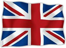 AUTOCOLLANT STICKER drapeau ANGLAIS UK UNION JACK ROYAUME UNI Moto Voiture