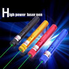 10000MW Green Laser Flashlight Mantianxing Starry Sky 2000 Meters Match Lighter