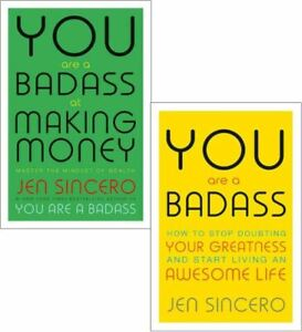 You are a badass jen sincero collection 2 books set (at making money: master the