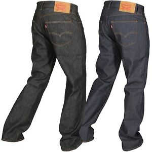 Levi's Men's 501 Original Shrink To Fit Jeans Straight Leg Button Fly