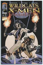 WILDCATS / X-MEN: The Modern Age #1 Nov 1997 Image / Marvel ADAM HUGHES Cover
